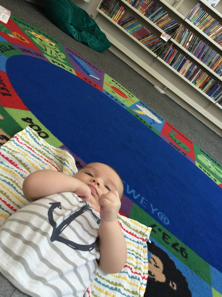 Edward's First Trip to the Library for Songtime