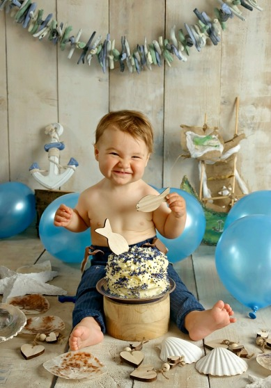 Of Course We Needed A CAKE SMASH Photoshoot 1 Year Old And Growing